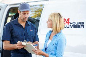 24 hour on call plumber photo