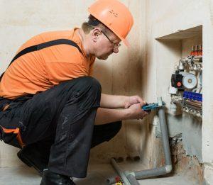 on house service plumbing photo
