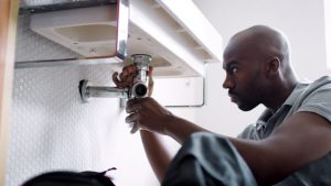 finishing plumber photo