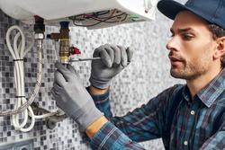 house water line repair photo