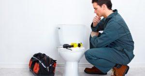 thinking plumber photo
