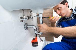 lavatory fixing plumber photo