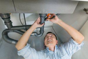 plumber hardworking photo