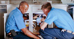 two indoor plumber photo