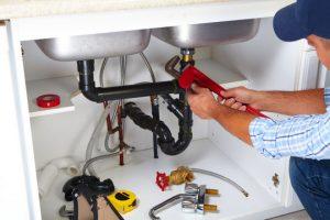 dual sink installation photo
